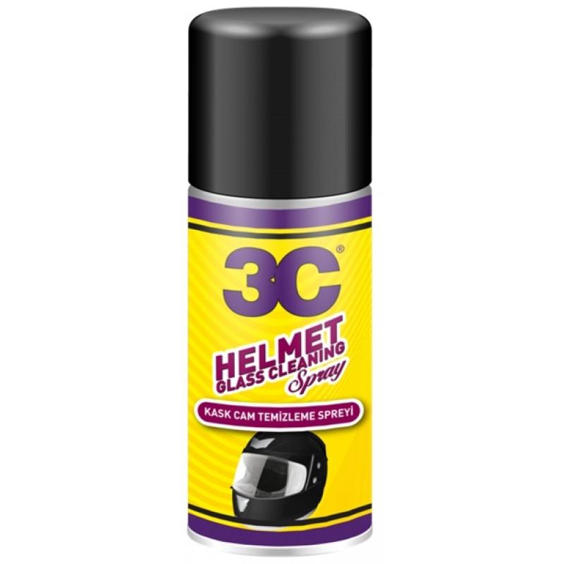 3C - Kask Camı Temizleme Spreyi 200 ml
