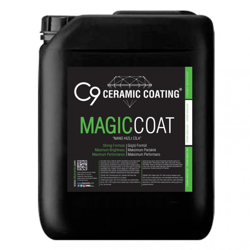 C9 - Magic Coat - Nano Hızlı Cila 20 KG