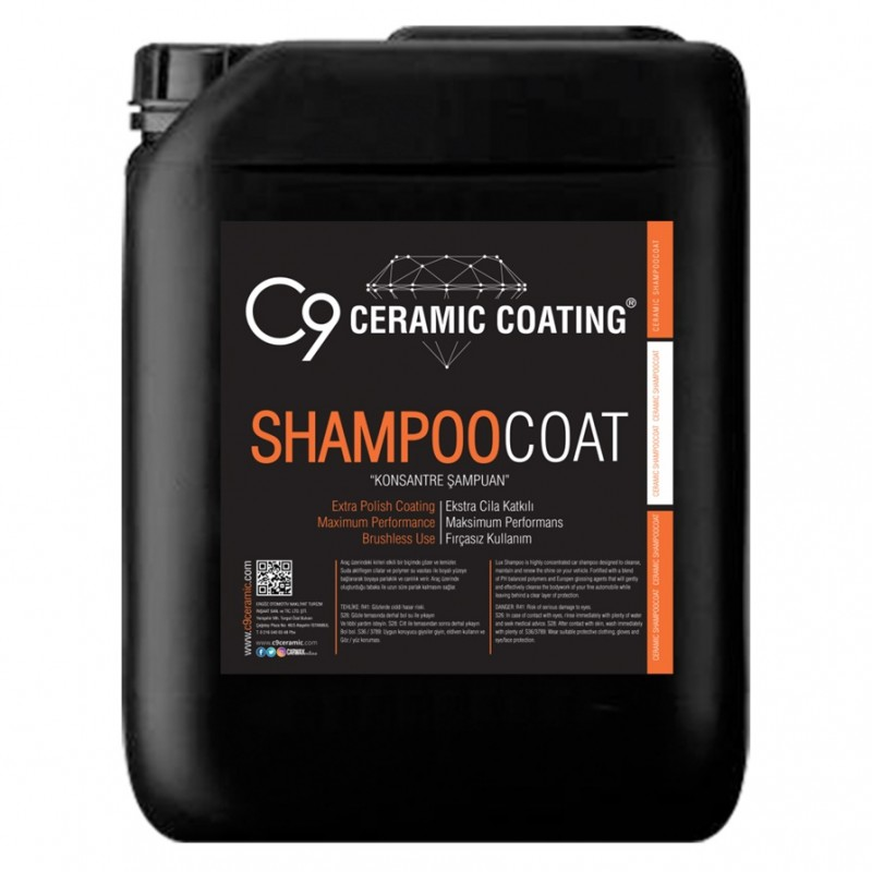 C9 - Shampoo Coat - Konsantre Şampuan - 20 KG