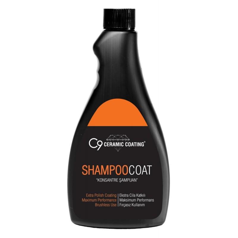 C9 - Shampoo Coat - Konsantre Şampuan - 500 ML