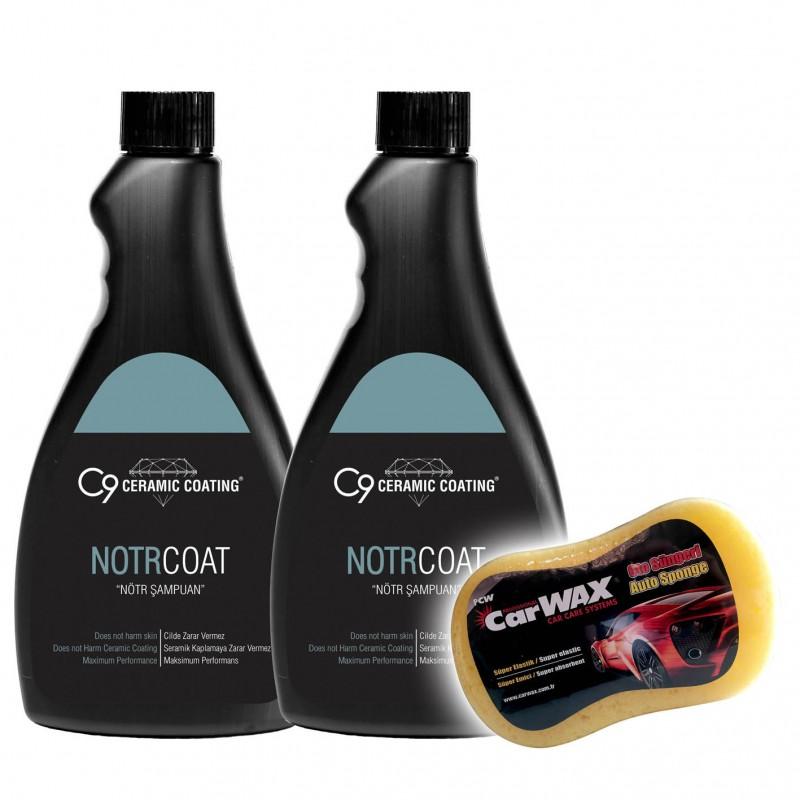 C9 - Notr Coat - Nötr Şampuan - 500 ML - 2 'li Set